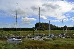 Wardley's Creek, Hambleton, Fylde, Lancashire UK (@CyprusPictures) Tags: fyldecoast wardleyscreek stalmine hambleton riverwyre jetty mudmoorings moorings yachts sailingboats overwyre fyldecoastphotography thulbornchapmanphotography cypruspictures staynall bluesky projectweather
