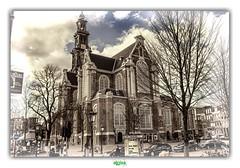 DE WESTERKERK in AMSTERDAM (2) (rgisa) Tags: westerkerk amsterdam glise church kerk holland paysbas