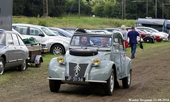 Citron 2CV Sahara 1964 (XBXG) Tags: jf3136 citron 2cv sahara 1964 4x4 4wd bimotor bimoteur citron2cv 2cv6 2pk eend geit deuche deudeuche icccr 2016 landgoed middachten de steeg desteeg rheden gelderland nederland holland netherlands paysbas vintage old classic french car auto automobile voiture ancienne franaise france frankrijk