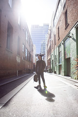 Alleys (Mirabelle K.) Tags: perth city travel bcd buildings sunlight lens lighting morning sunset people explore creative portrait alley roads australia aussie
