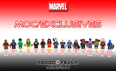 MOC/Exclusives [GROUP] [MOC] [CUSTOM] (agoodfella minifigs) Tags: sdcc lego legomarvel marvel marvellego legosuperheroes legomarvelsuperheroes legoavengers legospiderman minifigure minifigures moc marvelcomics mcu marvelheroes hulk spiderman spiderwoman guardiansofthegalaxy captainamerica ironman