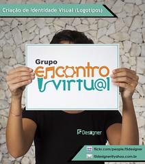 Criao de Logotipo Grupo Encontro Virtual (F5 Designer | Portflio) Tags: logotipo criao logomarca samba pagode identidade visual