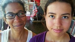 Janine & Eden (edenpictures) Tags: coneyisland brooklyn newyorkcity nyc september janine eden motherdaughter
