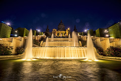 Museu Nacional d'Art de Catalunya (iosif.michael) Tags: sony a7 night photography long exposure museum national art barcelona spain europe travel sky water architecture