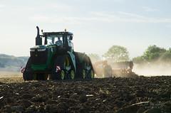 John Deere 9620 RX (Au Fil Des Champs-Baptiste.G) Tags: john deere tracteur tractor 9rx 9620rx team 3 services afdc au fil des champs quadtrac 600 case ih