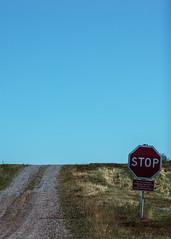 STOP (Mange J) Tags: fs160828 k5ii karlstad magnusjakobsson pentax sverige sweden tamronaf70300mmf456ldmacro vrmland blue fotosondag fotosndag pentaxart sign sky sommarnoje stop summer