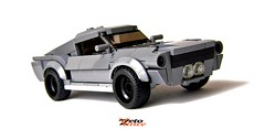 Mustang 67 Fastback (ZetoVince) Tags: vince zeto zetovince lego greek ford mustang car fastback pony muscle shelby eleanor