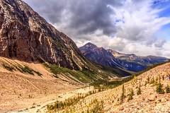 Storm brewing at the summit of Mt. Edith Cavel, Jasper National Park, Canada (mtm2935) Tags: provincialparks nationalparks mtedithcavel canadianrockies mountains jasper