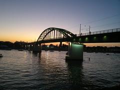 2016-08-27-7033 (vale 83) Tags: old sava bridge belgrade serbia nokia n8 colourartaward sunset friends carlzeiss