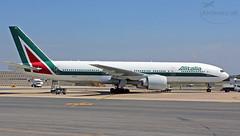 EI-ISO Alitalia Boeing 777-243(ER) (airliners.sk, o.z.) Tags: eiiso alitalia boeing 777243er airlinerssk lirf fco b772