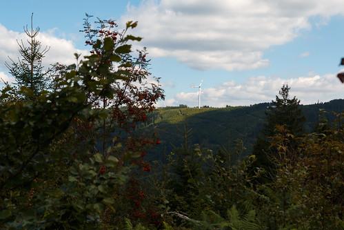 Éolienne à Oppenau