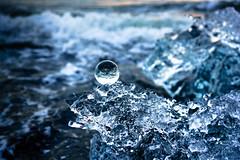 Crystalline (DSC9456) (DJOBurton) Tags: iceland jkulsrln crystalball