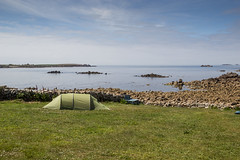 Britain's Most South-Westerly Tent (Troytown Farm & Campsite) (toschi) Tags: islesofscilly england cornwall uk stagnes