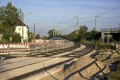 Wir haben nun den Bereich der knftigen Haltestelle Riedenburger Strae erreicht (Frederik Buchleitner) Tags: baustelle bergamlaim haidhausen linie25 mvg munich mnchen neubaustrecke steinhausen strasenbahn streetcar tram trambahn