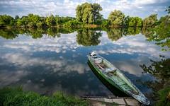 river Kupa (32) (Vlado Fereni) Tags: rivers riverkupa jamnikakiselica boats hrvatska croatia cloudy clouds reflection nikond600 tamron1735284