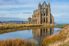Whitby Abbey Reflections...IMG_7310.jpg (Katybun of Beverley) Tags: abbey reflections whitby whitbyabbey eastyorkshire englishheritage
