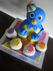 Birthday (DoobieCakes.com) Tags: birthday cake pablo cheesecake backyardigans doobiecakes