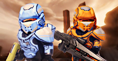 LEGO Halo 4 - It's Our Duty to Help Them Along! (MGF Customs/Reviews) Tags: up rio del john war wake lego thomas infinity chief 4 halo games andrew master requiem campaign ops spartan the cortana lasky unsc didact prometheans