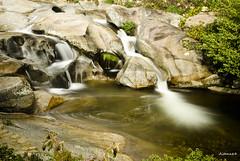 Calm in the water (AITANA64) Tags: cascada gargantalaolla efectoseda extremadira