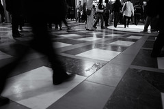 3D Look Floor (Junnn) Tags: blackandwhite bw japan tokyo 3d floor dome tokyostation marunouchi northdome chiyoda 1635mmf28 canonef1635mmf28liiusm canoneos5dmarkii silverefexpro2 丸の内北口