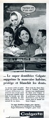 The 1960s-1964 Match ad (april-mo) Tags: vintage toothpaste colgate 1964 the60s vintagead vintagemagazine the1960s 1964ad vintagefrenchmagazine vintageadfortoothpaste 1964frenchmagazine 1964match 1964adfortoothpaste