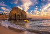 Cormorant Rock Sunset Cliffs (mojo2u) Tags: ocean california sunset sandiego oceanbeach sunsetcliffs pointloma birdshitrock nikond700 cormorantrock californiacoastalnationalmonument nikon28300mm