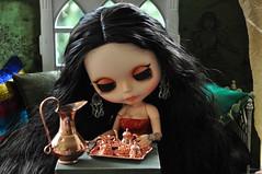 Conversa - 2381 - (MUSSE2009) Tags: toys doll mohair blythe custom zade árabe scheherazade