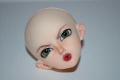 Juri faceup (Milk and Bunny) Tags: face up ball doll head event angry bjd fairyland juri jointed faceup minifee