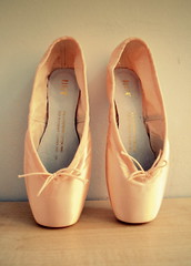 Bloch Pointes - colour (Emily-and-nikon) Tags: pink ballet colour heritage dance shoes soft pretty pointe satin serenade pointes bloch