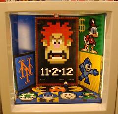 Queens LUG Showcase November 2012 (notenoughbricks) Tags: lego luigi scroogemcduck legostore legomosaics legovideogames ilugny lugshowcase wreckitralph queenslegostore legomegaman legomets