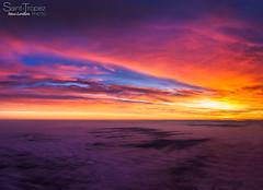 SUNSET CLOUD (steve lorillere) Tags: sea sky cloud mer sunrise mar meer himmel wolken cu ciel nuage nuvem sonnenaufgang    leverdesoleil nascerdosol