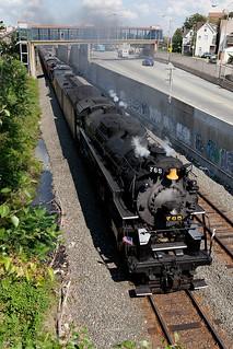 NKP 765 in Pittsburgh