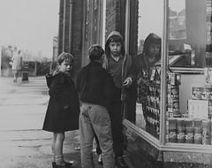Tor976, Newton Road, High Heaton, Newcastle upon Tyne (Newcastle Libraries) Tags: england people newcastle 60s suburban north social tyne historic wear east 70s 1960s 1970s seventies sixties laszlo torday surburbs