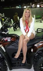EICMA 2012 Model (132) (Pier Romano) Tags: sexy girl model women legs milano babe salone moto donne 2012 gambe ciclo rho ragazze modelle eicma