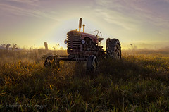Better Days (Mr Macgoo) Tags: farmers fields tractors implement ruralphotography
