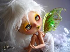 """Ooak custom Blythe """"Snow-Fairy"""""""