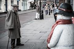 Two Gentlemen of Rochester (Alan Bourne) Tags: uk greatbritain england kent europe britishisles unitedkingdom britain ken rochester british medway