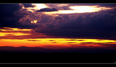 Zachd & chmury (sly.space) Tags: sunset sky clouds landscape heaven poland polska zachd rydutowy silesia lsk e510 chmury niebo krajobraz pszw theworldthroughmyeyes oberschlesien olympuse510 grnylsk salonpolski