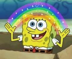 Bob Esponja. (JuanCyrus) Tags: rainbow bob esponja