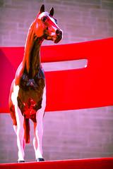 Red Horse (Thomas Hawk) Tags: sculpture horse usa colorado unitedstates denverartmuseum unitedstatesofamerica denver musuem lipski donaldlipski yearling gcollection theyearling