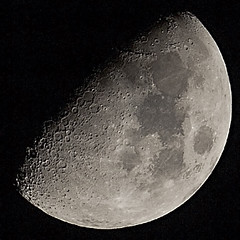 Shooting the moon (explored) (Alan10eden) Tags: moon detail canon sigma crater planet 60d 120400