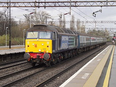 47501 at northampton (47604) Tags: northampton all diesel transport brush types sulzer class47 alltypesoftransport