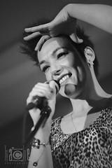 La Shica: infidelidades (Carmen Hache) Tags: bw en music blancoynegro concierto música vivo cantante músicos 85mmf18 lashica caféberlín