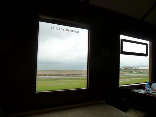AL Andalus - luxury train in Spain, large windows in suite