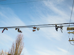 shoes-on-a-wire-8-20121126-1.jpg (roland) Tags: vancouver wire shoes powerline rolandtanglao shoesonawire shoefiti panasonic20mmf17 olympusepl1