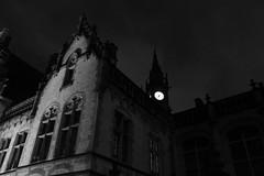 Gothic Ghent (MarkGDub) Tags: bw europe belgium belgique belgie ghent gent flanders labelgique belge medievalbuildings lesflamandes lowlightshots blackandwhiteproject vlaanderlaanden yahoo:yourpictures=yourbestphotoof2012