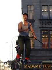 Street Performer (Rick & Bart) Tags: people man male guy amsterdam tattoo artist candid strangers streetphotography streetartist performer damsquare dedam mensen everydaypeople thedam vreemden rickbart thebestofday gününeniyisi rickvink