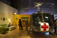 Frighteningly perfect metaphor... a med-evac Huey in the livingroom (wbaiv) Tags: california friends people moon chicago black men robert museum plane work airplane oakland riot workers women war king power martin farm circles dr united profile police 8 coworkers jr exhibit vietnam civil cesar rights convention bobby 1968 persons chirstmas rev apollo kennedy democratic chavez ufw luther minorities assertive assasinated boycot tablegrape