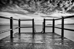high rock (zip po) Tags: sea blackandwhite dublin mono malahide highrock utat:project=tw345