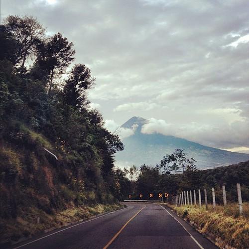 Volcan De Agua #beautiful #guatemala #travel #iphone #instagood #instagramhub #volcano